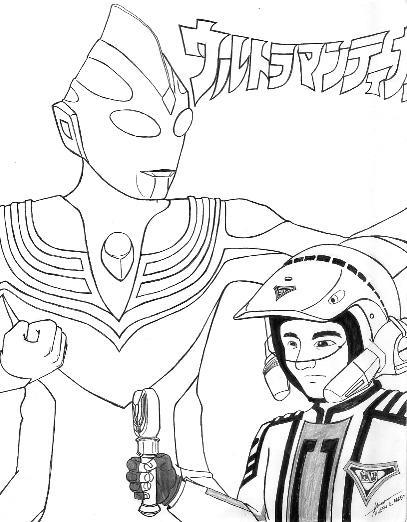 Ultraman Tiga 2 by hirokada on