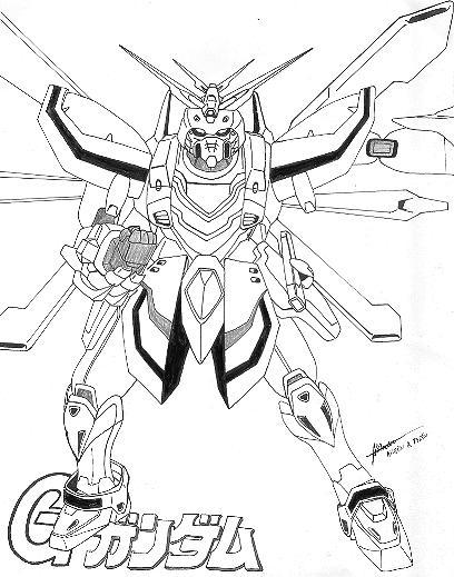 g gundam coloring pages - photo #35