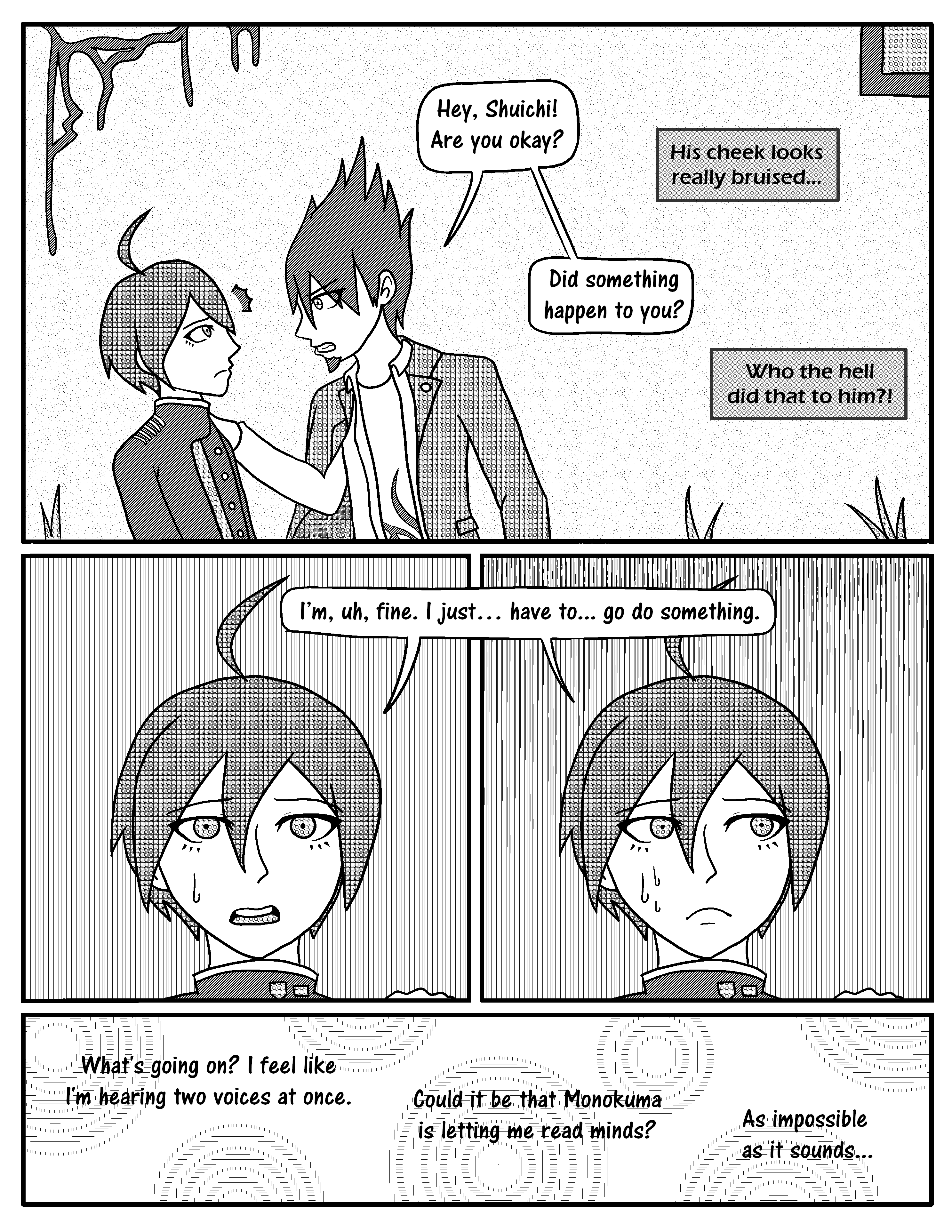 The Comic Where Shuichi Reads Minds - Chapter 1