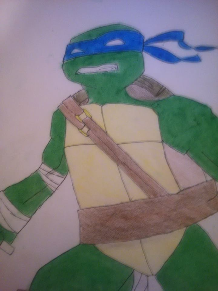 Leonardo TMNT 2012 by ToughSunshine32
