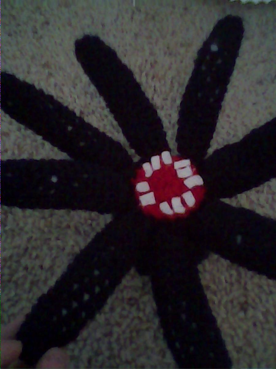 Crochet Squid (Minecraft) by Maw1227