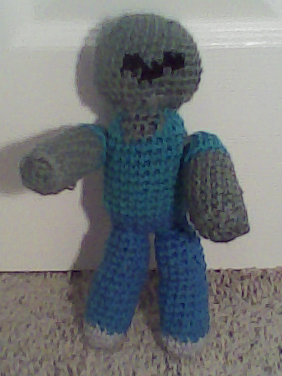 Free Crochet Patterns Zombie : Crochet Zombie (Minecraft) by Maw1227 on DeviantArt
