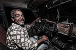 One of Alexandria Old Taxi Drivers...
