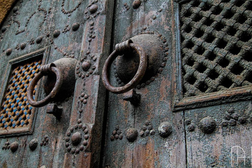 Tunisia Traditional door in Carthage. by nader-tharwat