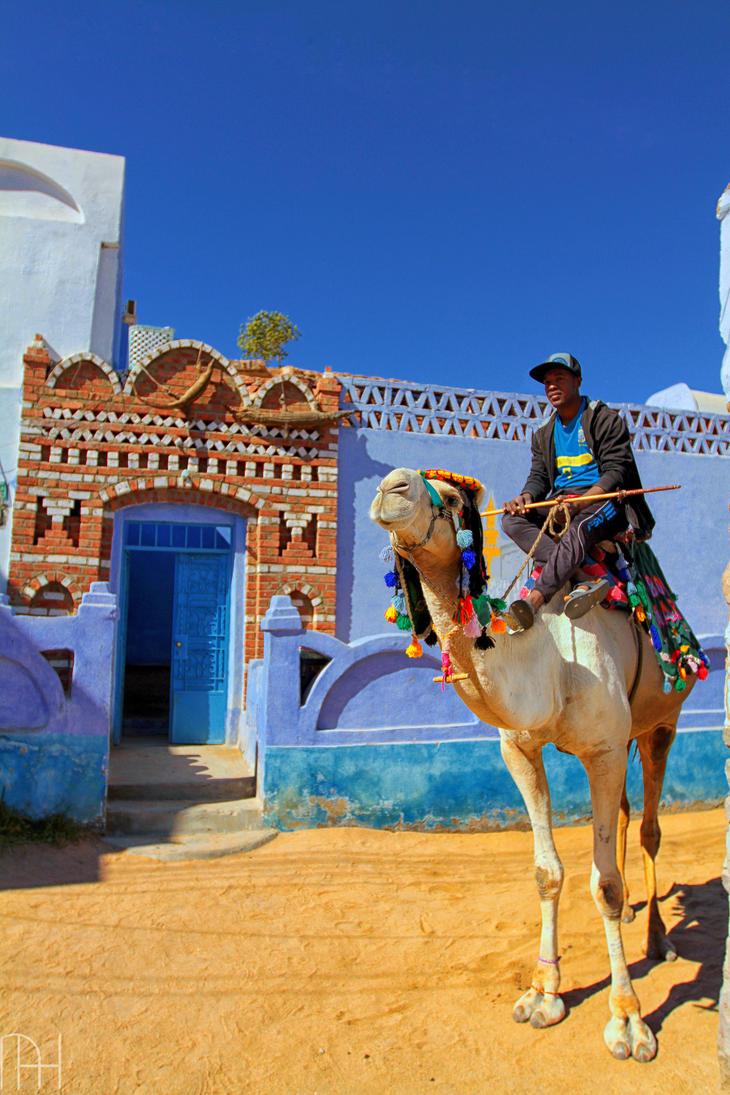 Nubian Village, Aswan, Egypt by nader-tharwat