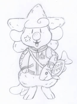 Fashionable Star Sheep