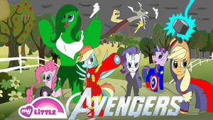 My Little Avengers by Trey-Vore