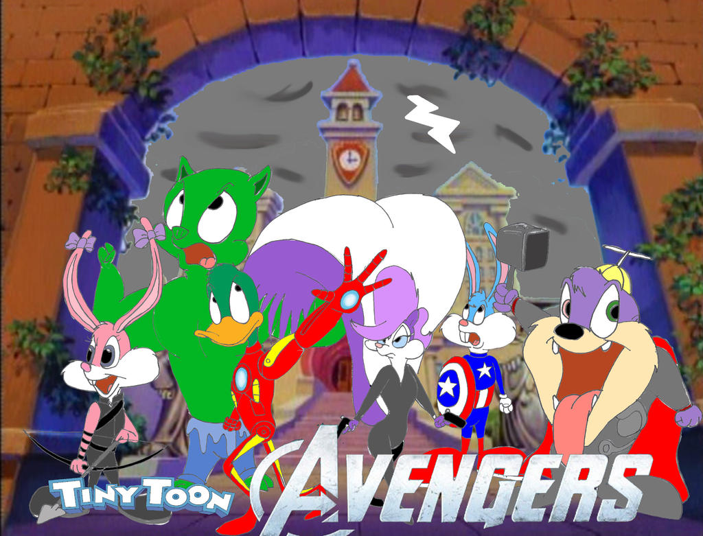 Tiny Toon Avengers by Trey-Vore