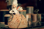 The Old Porcelain Lady