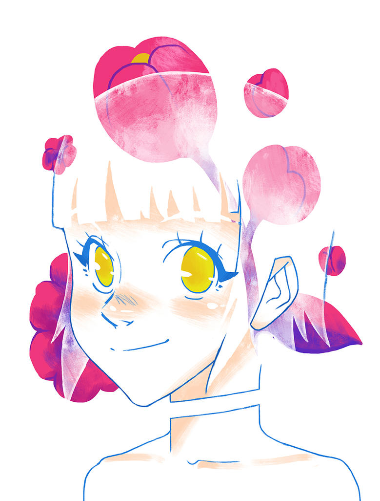 Flower Girl by FredericoEscorsin