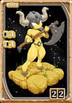 Atomo Amarelo 1 (yellow atom) by FredericoEscorsin