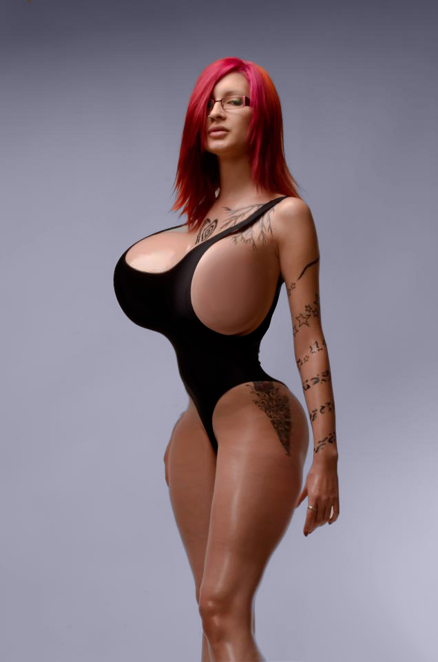 Are all Huge tits in leotards pity