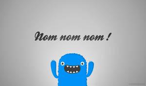 Mr. Om Nom Nom Nom Free Wallpapers