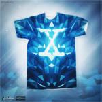 BLUE X (XFiles Contest) @threadless by mrsbadbugs