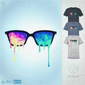 Psychedelic Nerd Glasses at Threadless