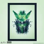 Rorschach Yoda! @threadless by mrsbadbugs