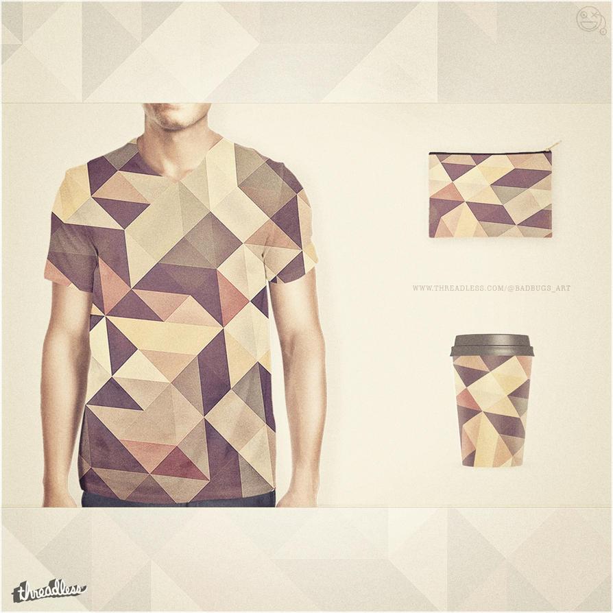Coffee Script! Fancy Allover Pattern Fashion by mrsbadbugs