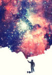 Painting the Universe Art Print! by mrsbadbugs