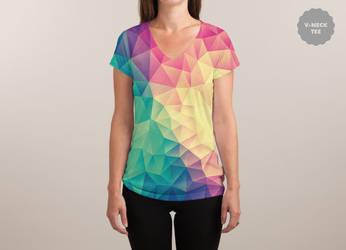 Color Bomb! @threadless (V-NECK) by mrsbadbugs