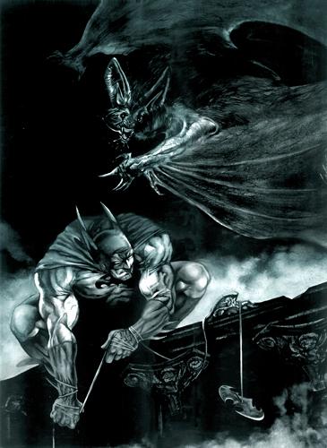 batman by xkyuubix