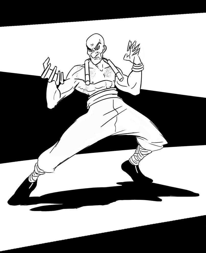 Kunfu-master by Rhesyuzz
