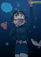 Drowning in the deep by ChicoKawaii94