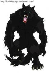 Black Wolfman by IchiroHyuuga