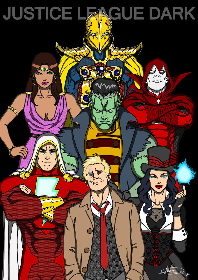 Justice League Dark by IchiroHyuuga