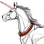 sketch : crowned unicorn wip