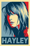 Hayley Williams obey poster