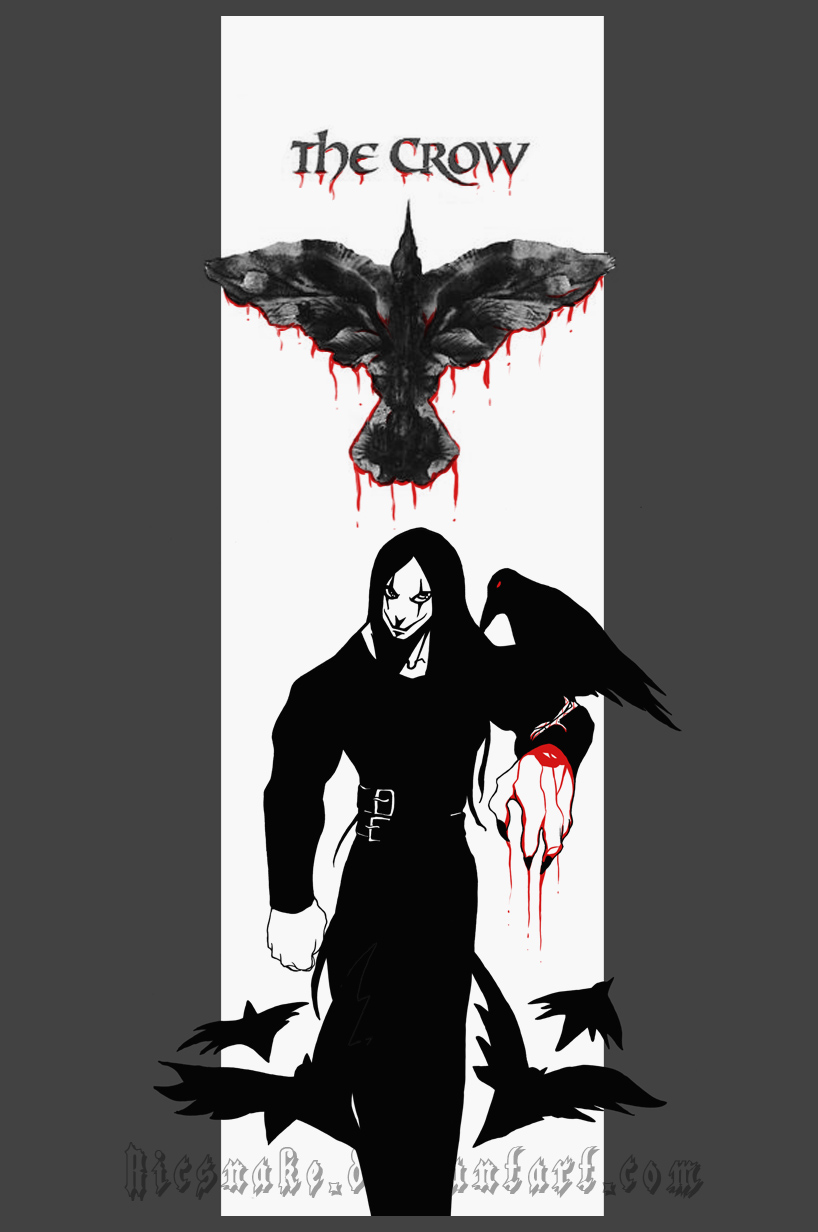 The Crow by Ricsnake
