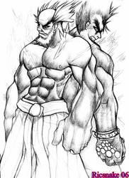The Iron Fist Tournament by Ricsnake