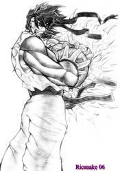 Ryu - Pencil by Ricsnake