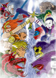 The Masters of the Universe by Ricsnake