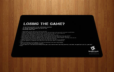 Losing Tips - MTG Playmat