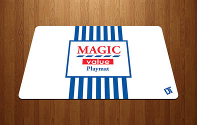 Tesco Magic - MTG playmat