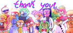 Thank you for watching the show by Dianfleur