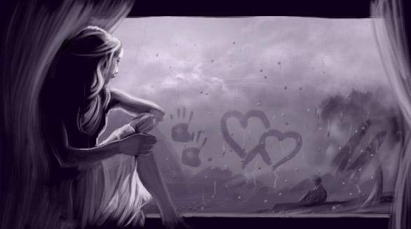 Rainy love by HessamNM