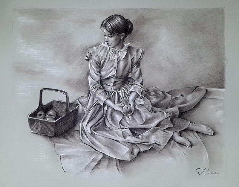 The Girl by HessamNM