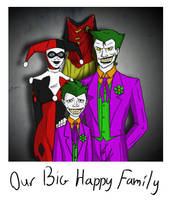 Our Big Happy Family by Aakr
