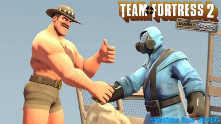 TF2 - Man vs Machine