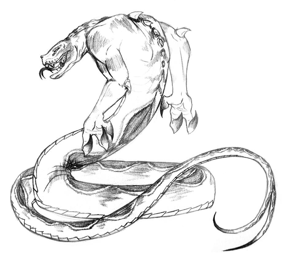 Snake Beast by Chobaryu