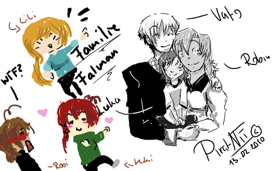 Familie Joke by PiratNii