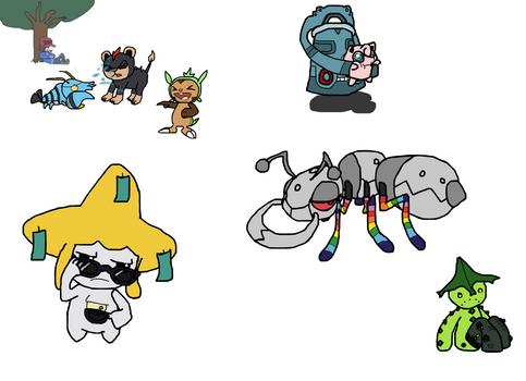 Pokemon Doodle Dump 4