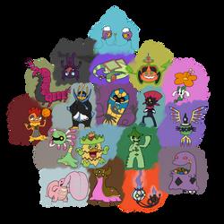 Pokeddexy: Favourite types