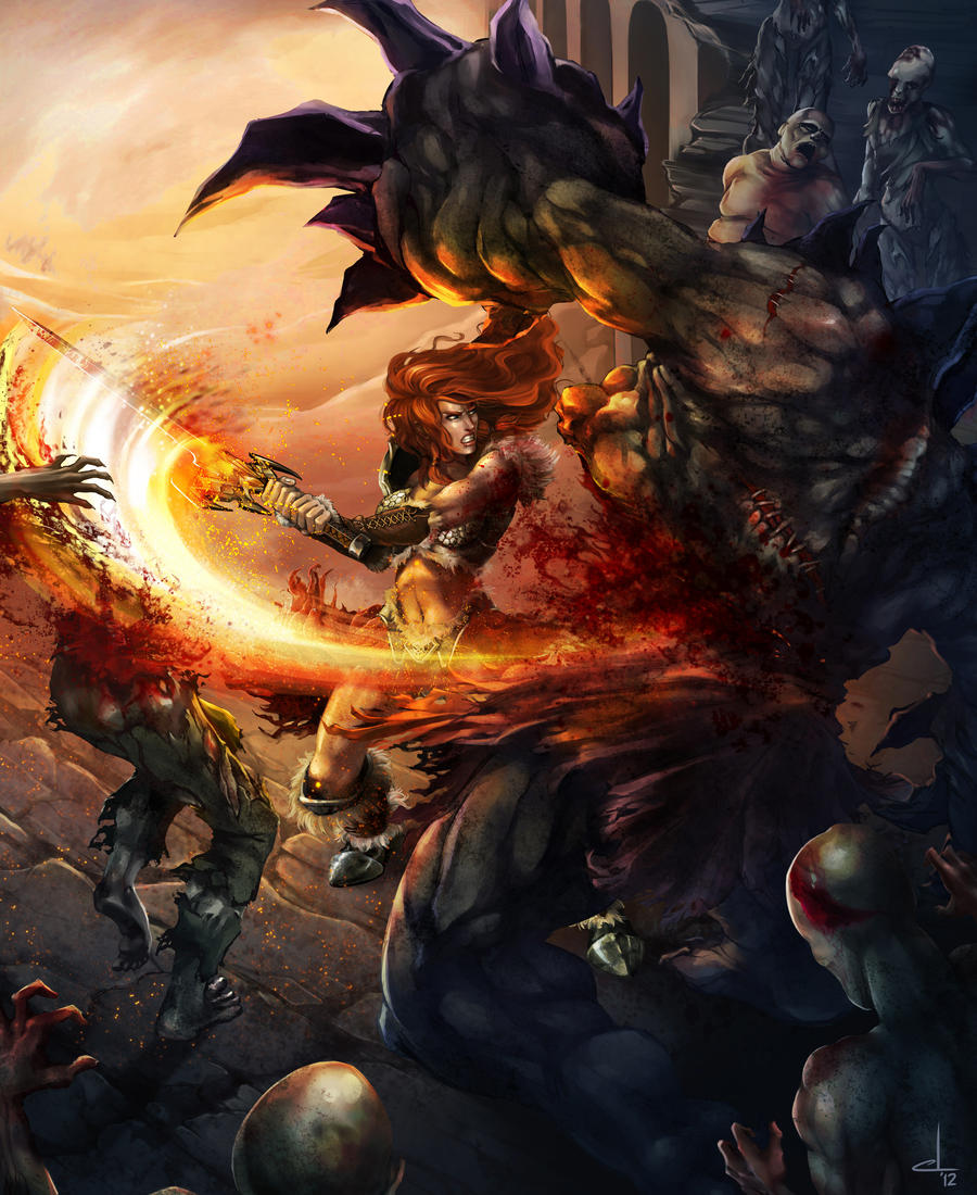 Diablo III - Kynthia by cynthi-dm
