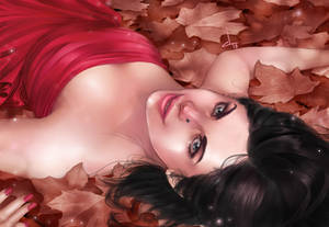 Lay down to autumn