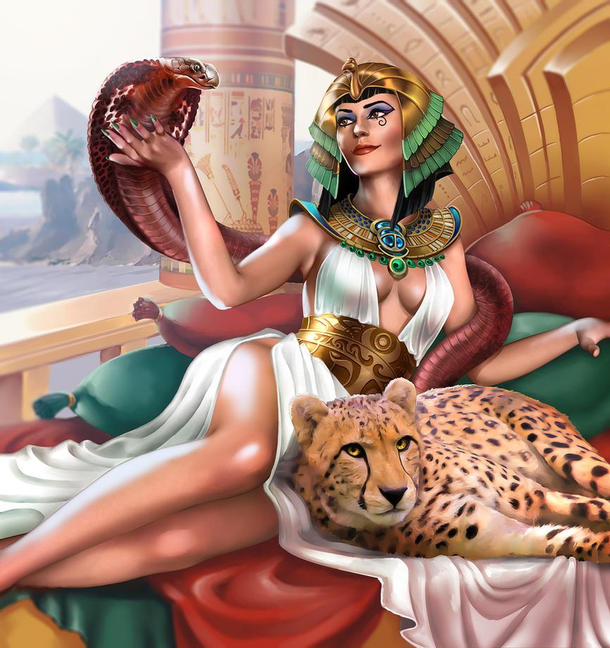 Cleopatra by cynthi-dm