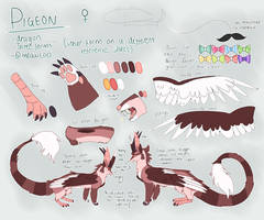 pigeon reference!! new by meowcoo