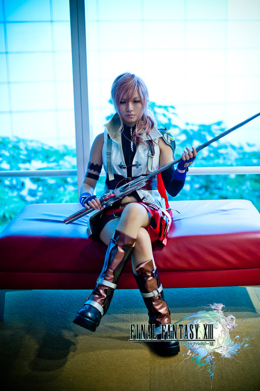 Final Fantasy XIII - Lightning by XkaOnslaught
